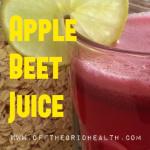 otg apple beet juice
