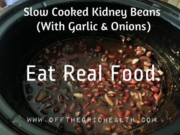 Kidney Beans OTG Style