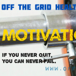 off the grid motivations