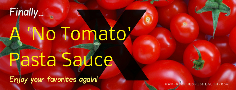 No Tomato Pasta Sauce #1