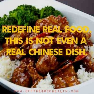 General Tso not authentic dish